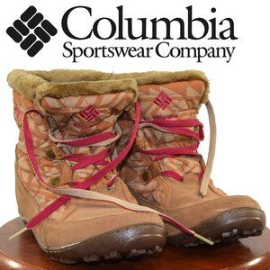 Columbia Womens Minx Shorty Resort Boots SIZE 8.5